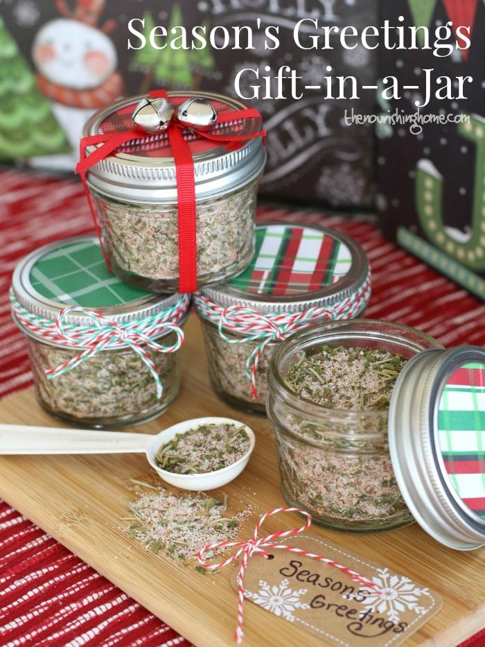 Season 39 S Greetings Mason Jar Gift All Purpose Seasoning Mix