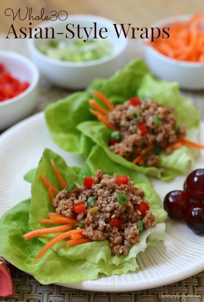 Asian Lettuce Wraps Pinterest