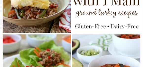 Ground Turkey 3 Meals 1 Main